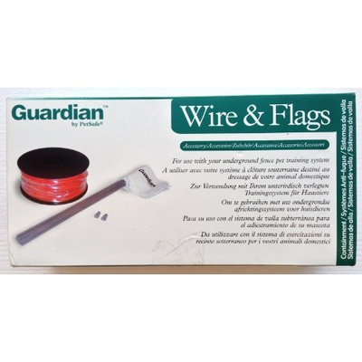Guardian by Petsafe Pet Safe Guardian PRFA-500 Wire and Flag Accessory Kit - for Use With Your Underground Fenced Pet Training System