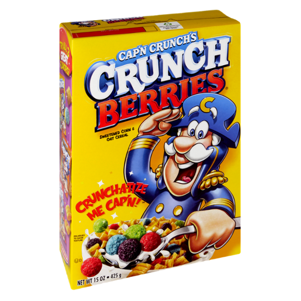 Cap'n Crunch's Crunch Berries Cereal
