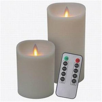 Veraflame E03581 Candle Ivory Remote Combo