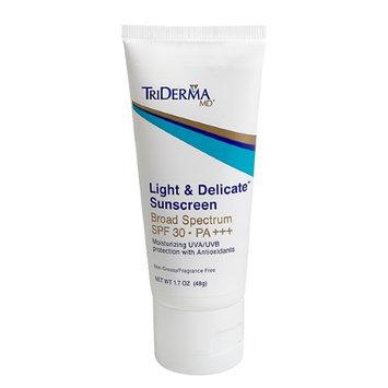 Triderma Md TriDerma Light & Delicate Sunscreen Broad Spectrum SPF 30 PA+++ (1.7 oz)