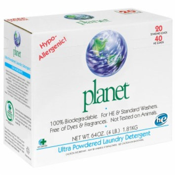 Planet Ultra Powdered Laundry Detergent