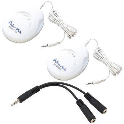 Sangean Pillow Speaker Kit With Two Speakers And 3.5mm Splitter