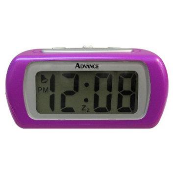 Geneva Platinum Geneva LCD Alarm Clock - Purple (0.6
