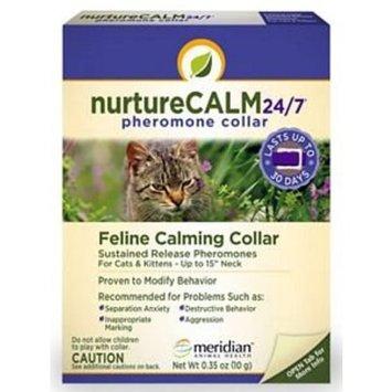 Meridian NurtureCALM 24/7 Feline Calming Pheromone Collar (Upto 15