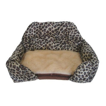 YML Pet Bed Cushion with Animal Print
