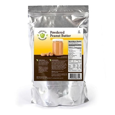 Legacy Premium Food Storage Powdered Peanut Butter Mix Legacy Smooth & Creamy Dried Food Supply