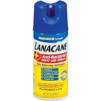 Lanacane Anti Itch Spray, 3.5 Ounce (Pack of 12)