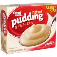 Generic GV Vanilla Instant Pudding, 5.1 oz