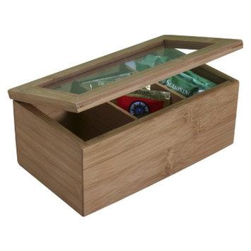 Danesco International Natural Living Bamboo Tea Box - 8.5x3.5