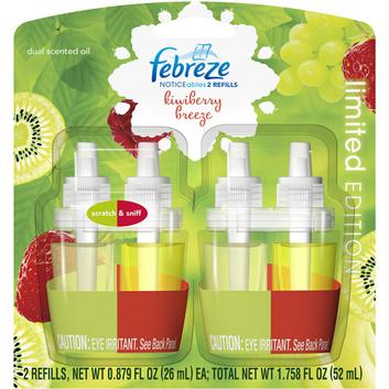 Febreze NOTICEables Kiwiberry Breeze Air Freshener Refill