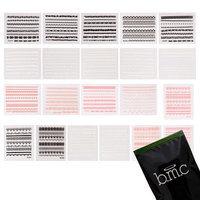 Bundle Monster BMC 21pc Lace Decal Flower Manicure Decoration Style Nail Art Stickers Sheets