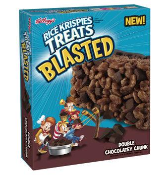Rice Krispies Treats Blasted Double Chocolatey Chunk