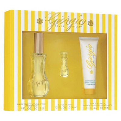 Women's Yellow by Giorgio Beverly Hills Fragrance Gift Set - 3 pc