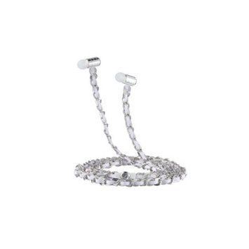 Fusion By Dazzle DZ10010 Jewel Earphone Venus Silver