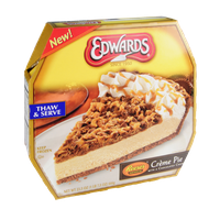 Edwards Reese's Peanut Butter Cups Creme Pie with a Chocolatey Crust