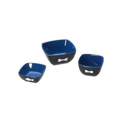 Ethical Vista Dog Dish in Blue/Black