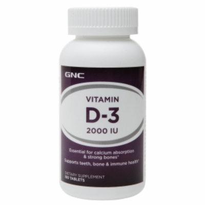 GNC Vitamin D-3 2000, Tablets, 180 ea