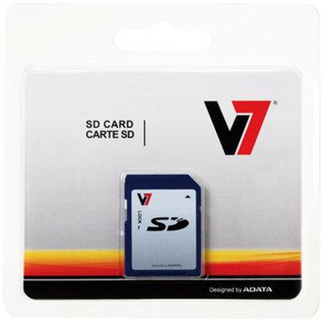 V7 8GB SD Card, Secure Digital High Capacity 8 GB Memory Card