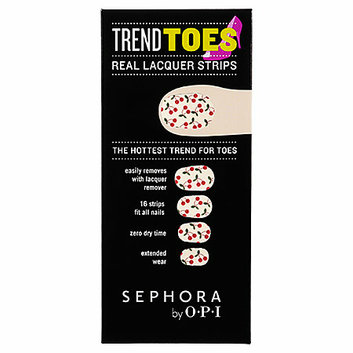 SEPHORA by OPI Trend Toes Cherries 16 Strips