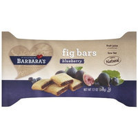 Barbara's Bakery Fig Bars, Blueberry, 12-Ounce Tray (Pack of 6)