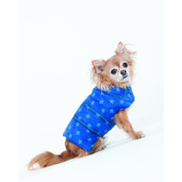 Fashion Pet Lookin Good Star Puffy Blanket Coat for Dogs, Small