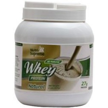 Nutri Supreme Research Nutri-Supreme Research Whey Protein Powder Dairy Cholov Yisroel Natural Flavor - 2 lbs