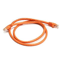 Monoprice 3FT 24AWG Cat6 550MHz UTP Bare Copper Ethernet Network Cable - Orange