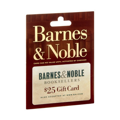 Barnes & Noble Booksellers $25 Gift Card