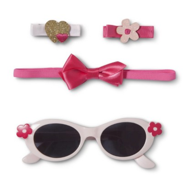 Just One You Made by Carter's Just One YouMade by Carter's Newborn Girls' Sunglasses and Hair Set -
