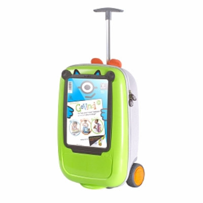 BenBat Look What I Made GoVinci Trolley, Green, 1 ea