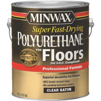 Minwax 13025 VOC Fast Drying Polyurethane For Floor-VOC SATIN FLOOR POLY