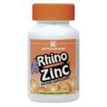 NUTRITION NOW, Rhino Zinc - 60 tabs