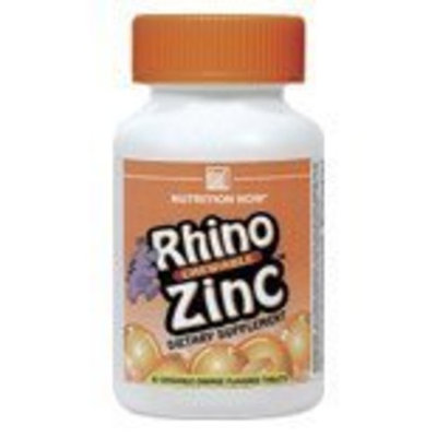 NUTRITION NOW, Rhino Zinc - 60 tabs