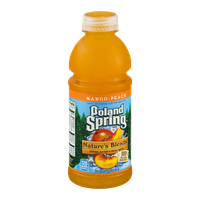 Poland Spring Nature's Blends Spring Water & Real Juice Mango-Peach