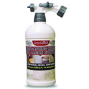 Biosafe Systems 080033 Greencleanfx Moss, Mold and Mildew Treatment - 32 Oz