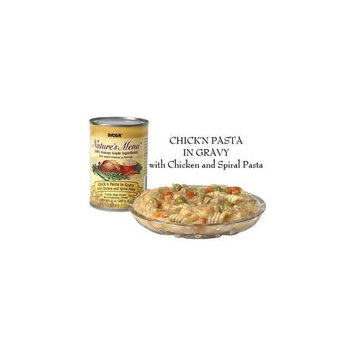Evolve Nature's Menu Chick'n Pasta In Gravy with Chicken and Spiral Pasta Canned Dog Food