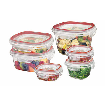 Rubbermaid Lock-Its Food Storage Container Set 12pc