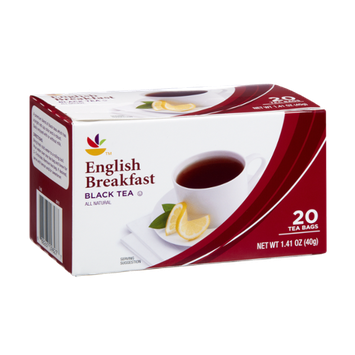 Ahold English Breakfast All Natural Black Tea Bags- 20 CT