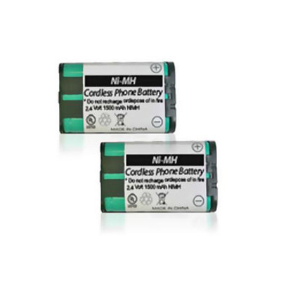 Battery for All Brands TL26411 (2 Pack) Replacement Battery