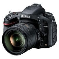 Nikon D600 24.3MP Digital SLR Camera with 24-85mm Lens - Black (13187)