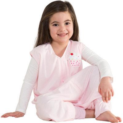 Halo Pink Big Kids 2/3T Pink Cupcake - 2/3T