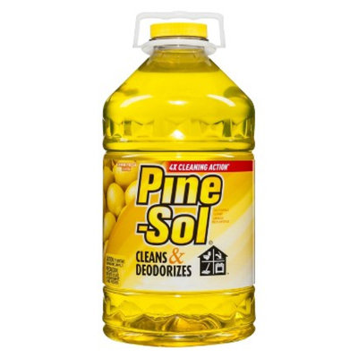 Pine Sol Pine-Sol Multi-Surface Cleaner Lemon Fresh 100 oz