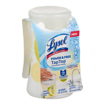 Lysol Power & Free Tap Top Multi-Purpose Cleaner Citrus Sparkle