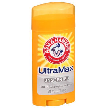 ARM & HAMMER™ Ultramax Unscented Antiperspirant & Deodorant Invisible Solid