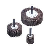 CGW Abrasives Flap Wheels - 1-1/2x1/2x1/4 alum oxide60 grit flap wheel (Set of 10)