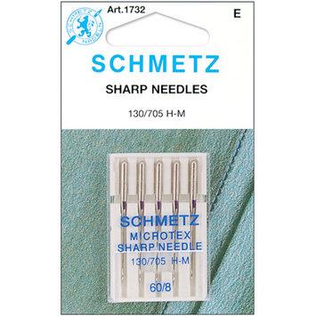 Euro-Notions 71629 Microtex Sharp Machine Needles-Size 8-60 5-Pkg