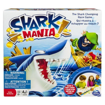 Specialty Board Games Spin Master Games - Shark Mania Board Game
