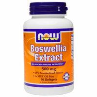 NOW Foods Boswellia Extract 500mg, Softgels, 90 ea