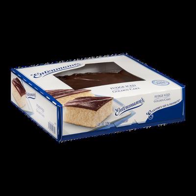 Entenmann's Fudge Iced Golden Cake