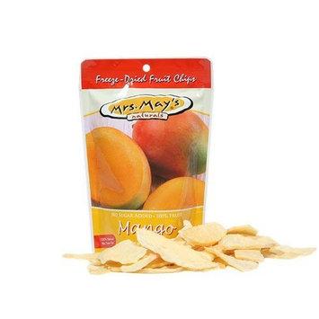 Mrs Mays Mrs. May's FREEZE DRIED Mango Fruit Chips box of 36